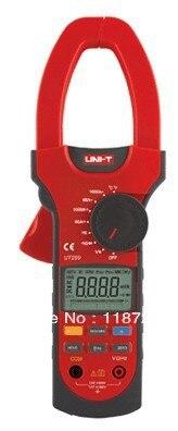 UNI-T UT209 LCD Clamp Digital Multimeter AC DC Voltage Amp Ohm Hz Tester uni t ut118a original lcd digital multimeter