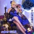 FGO Fate/Extella Sable Azul Uniformes Cosplay Envío Gratis