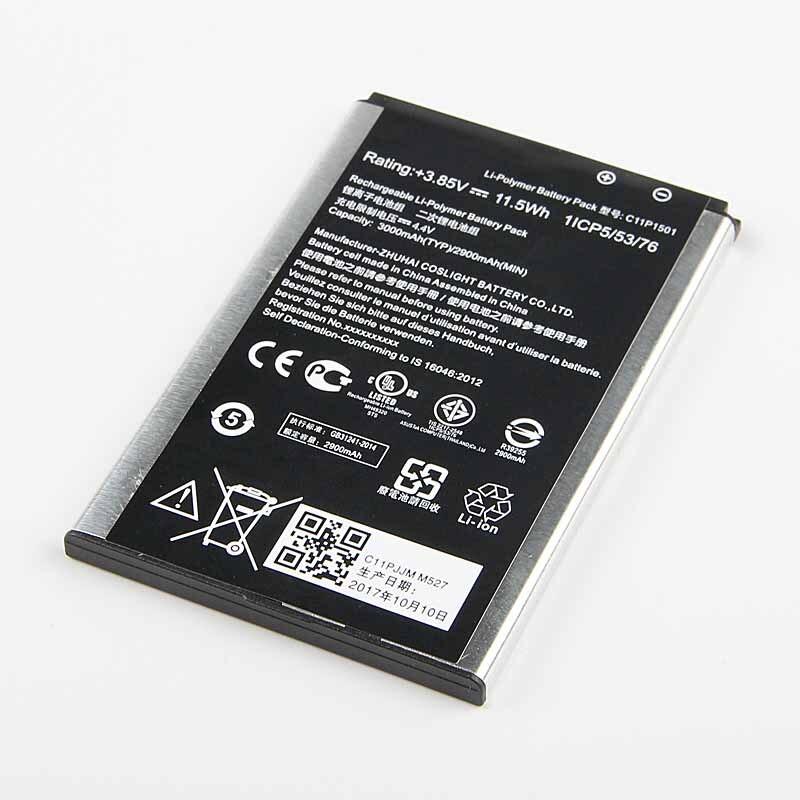 Fesoul Haute Capacité C11P1501 Batterie Pour ASUS ZenFone2 Laser 5.5 /6 zenfone selfie ZE550KL ZE601KL Z00LD Z011D ZD551KL Z00UD 2