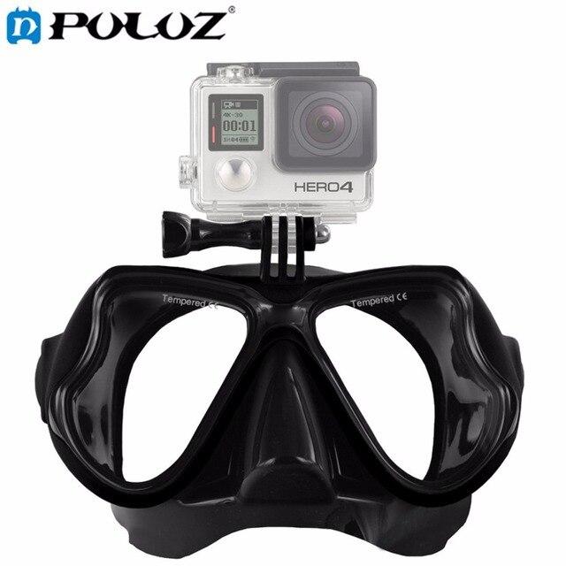 Аксессуары для водных видов спорта, маска для плавания, очки для взрослых, оборудование для дайвинга для GoPro HERO5 HERO4, HERO 5 4 3 2 1