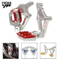 FOR X ADV 2017 Motorcycle Folding Rear sets articular footpeg Foot Pegs Footrest Passenger For HONDA X ADV XADV X ADV 2017 2018