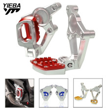 FOR X-ADV 2017 Motorcycle Folding Rear sets articular footpeg Foot Pegs Footrest Passenger For HONDA XADV X ADV 2018