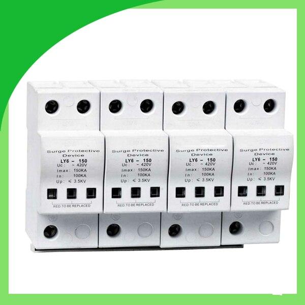 Ly6 150 420V 150ka 4 полюсная Защита от перенапряжения