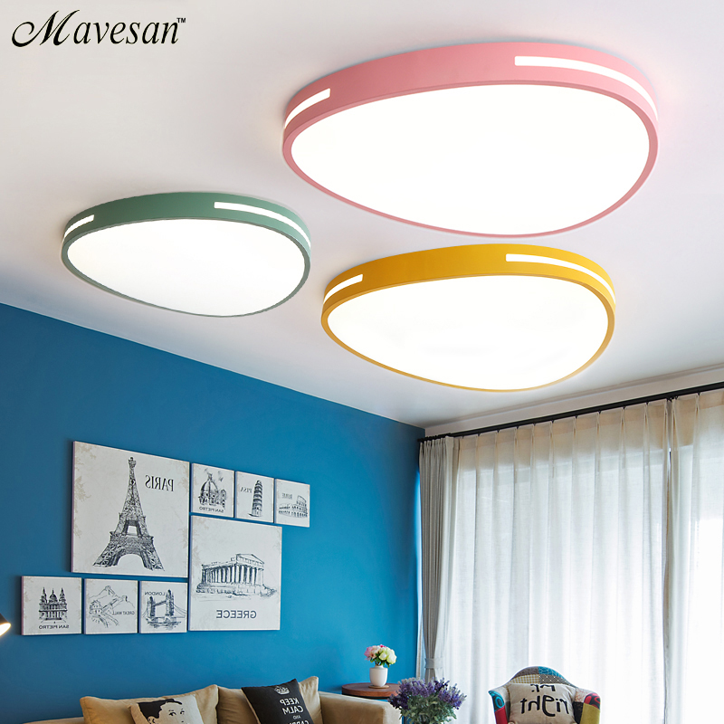 Modern led ceiling lights for Living room Bedroom Kitchen luminaria led ultra thin 5CM hall luminaria
