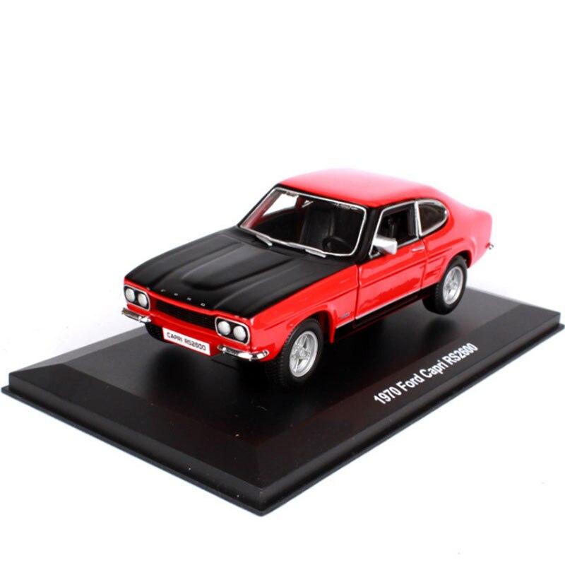 1:32 весы металлический сплав Классический Ford Capri RS2600 модель автомобиля литые автомобили игрушки или коллекция для детей