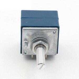 Image 4 - Lusya orijinal japonya ALPS RK27 çift ses potansiyometre 10k 50K 100k yuvarlak kolu hifi amplifikatör A9 013