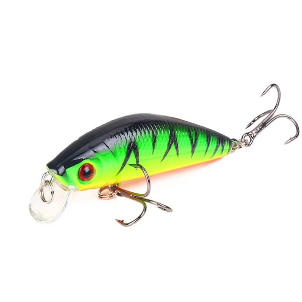 1pcs 10 Color Sinking Slowly Minnow Fishing Lure 8.5g 7cm Hard Crankbait Plastic Baits Carp Fishing Wobbler Artificial Tackle