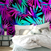 3D Photo Custom Wallpaper Nordic Color Tropical Plant Leaf Wall Mural Modern Wall Papers Wallpaper Home