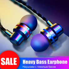 H&A 3.5mm Wired Earbuds Headphones In Ear Bass Sound Earphon