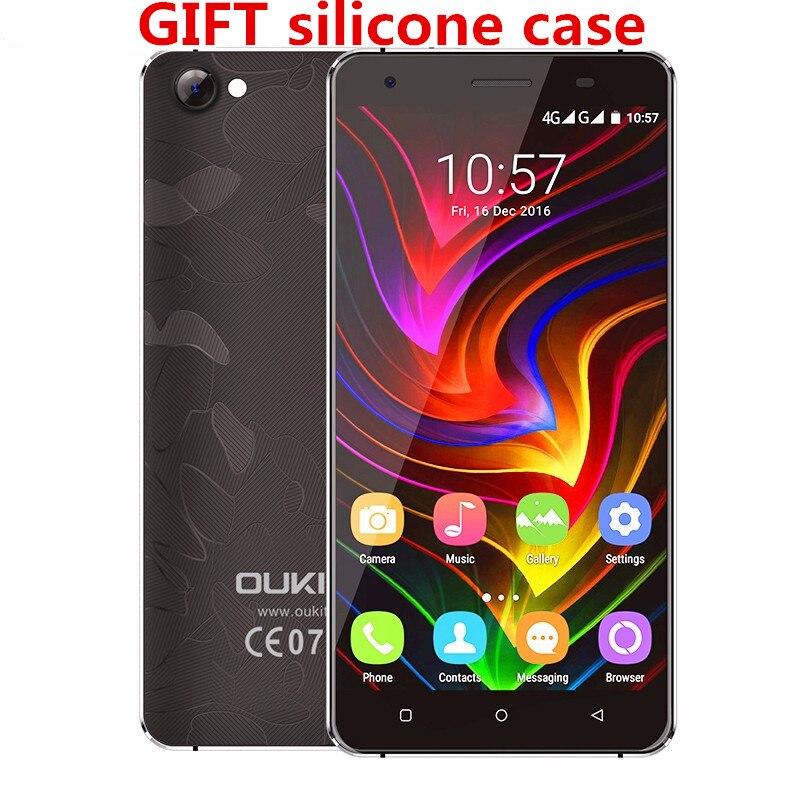 Galleria fotografica Oukitel C5 Pro cellulaire téléphone 4G <font><b>Smartphone</b></font> 2 GB RAM 16 GB ROM MT6737 Quad Core 1280x720 5.0 Pouce Android 6.0 5.0MP Mobile Téléphone