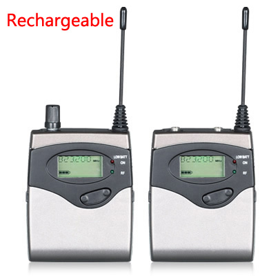 Rechargeable!!! DSLR Camera ENG/EFP interview Wireless Microphone System, Tour guide Teaching Training Visit Tourism microphone eng