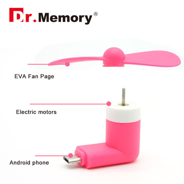 Portable Super Mute USB Cooler Mini Fan For Android Phone