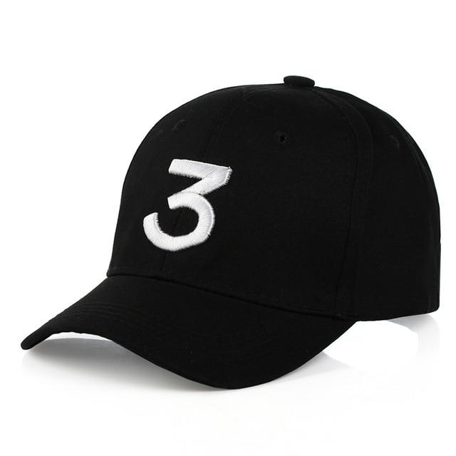 Carta Bordado la oportunidad del golpeador 3 negro gorra de béisbol hip hop SnapBack  gorras Casque 4304bc97778