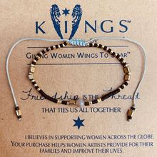 Miyuki Thin Bracelet Beads Stone Jewelry Handmade Weave Black Gold Rope Chain Bracelets For Women Colorful Seed Friengship Gifts