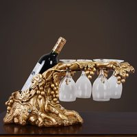 wine rack wine glass decoration living room coffee table TV wine cabinet accessories furnishings practical crafts WL5071524