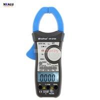 HP-870N Auto Range Multimetro Digital Clamp Meter Multimeter Pinza Amperimetrica Amperímetro True RMS Frequenz Tester