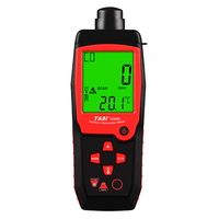 TA8402 портативный анализатор угарного газа 1 ~ 1000PPM CO детектор утечки газа с функцией звуковой сигнализации 3,7 в литиевая батарея