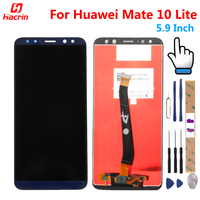 Huawei Mate 10 Lite LCD Display Touch Screen Test Good Digitizer Assembly Replacement Panel For Huawei