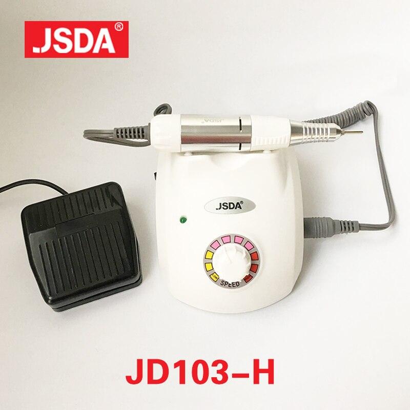 Прямые продажи JSDA JD-103H 35 Вт ногтей дрель Инструменты Гвозди книги по искусству оборудования аксессуары лак Электрический маникюр педикюр