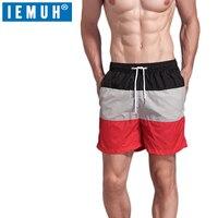 IEMUH летние мужские Брендовые спортивные для бега шорты для похудения мужские черные короткие брюки для бодибилдинга мужские фитнес шорты д...