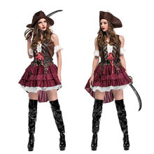 New Sexy Woman Halloween pirate Costume Robber Bandit Cosplay corsair Role play party Christmas Carnival parade Masquerade dress  sc 1 st  AliExpress.com & Robber Costumes Promotion-Shop for Promotional Robber Costumes on ...