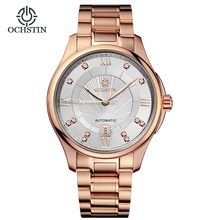 Brand Classic Fashion Casual Business Watch Men Automatic Wrist Watches Male Flywheel Wristwatch Calendar Luminous Rome Numeral