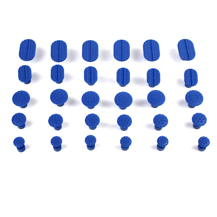 Профессиональный 30 шт. PDR инструментов Высокое качество автомобиля Paintless Дент Ремонт Инструменты Набор золото Дент Съемник клей вкладки