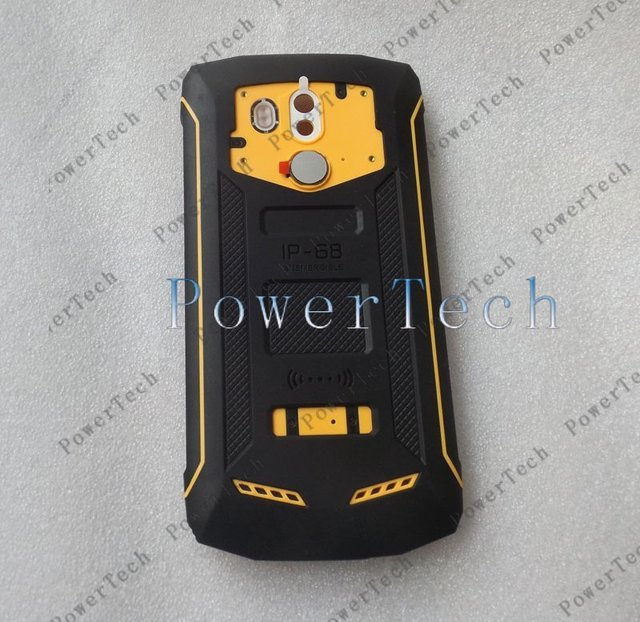 Blackview BV5800 Pro BV5800 Battery Cover Shell Case with Microphone and Fingerprint Sensor Flex Cable 2