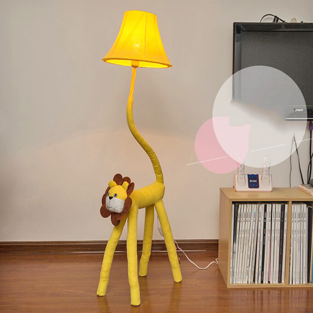 High Quality Luxurious Bedroom Design Kids Floor Lamp Led Yellow ...