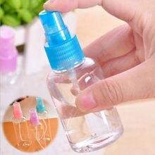 Пустые многоразового ухода малый спрей кожей бутылки пластиковый макияжа прозрачный мл