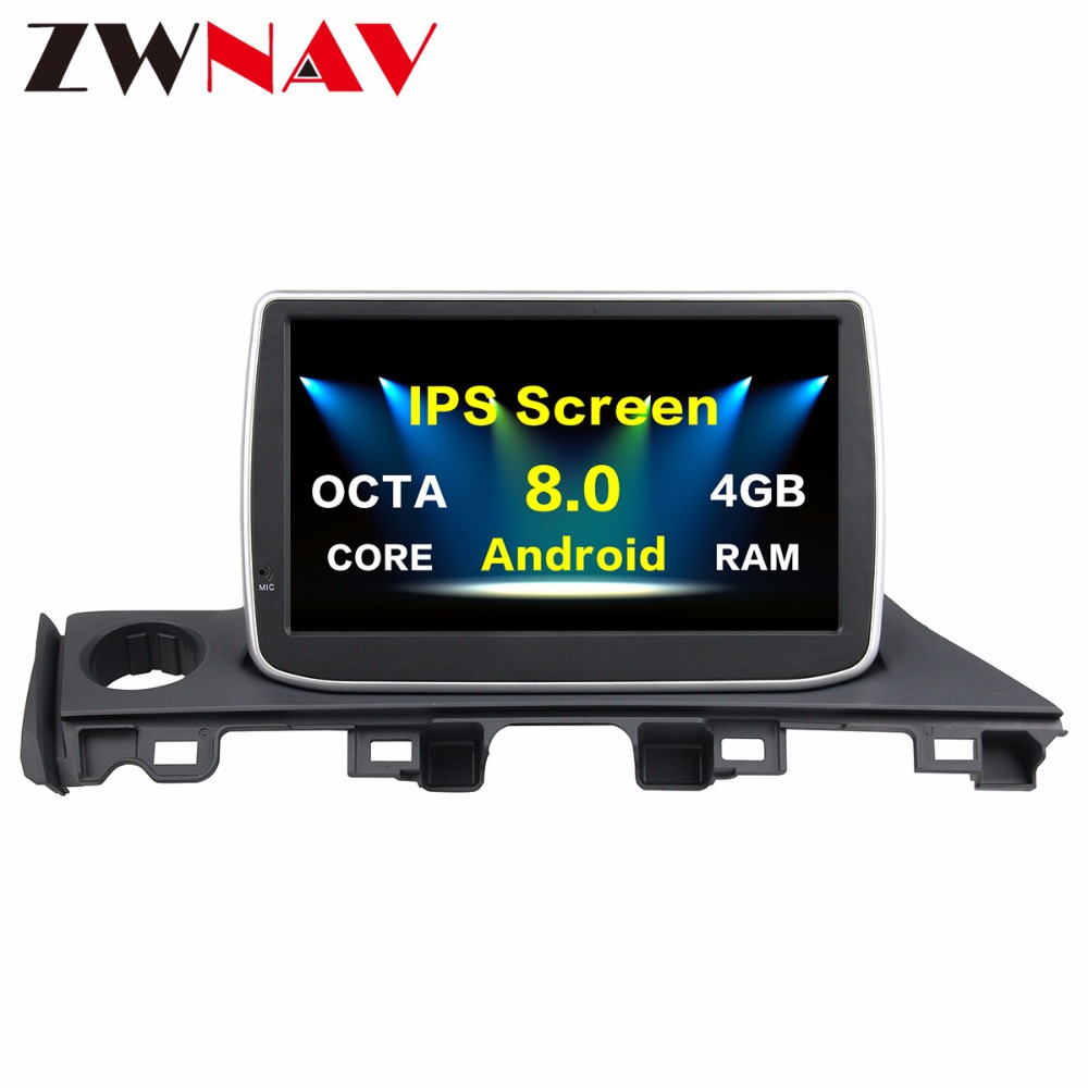 2 Din Android 8.0 4G Car multimedia Player Autoradio GPS Navigation head unit for Mazda 6 Atenza 2017 car dvd player wifi Radio