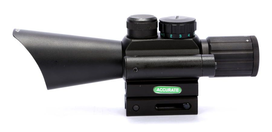 Free Shipping 4X30 M7 Red Green Mil-Dot Reticle Hunting Rifle Scope Side Mounted Airsoft Target Riflescope With Red Laser Sight 3 10x42 green laser m9a tactical rifle scope red green mil dot reticle with side mounted green laser guaranteed 100%