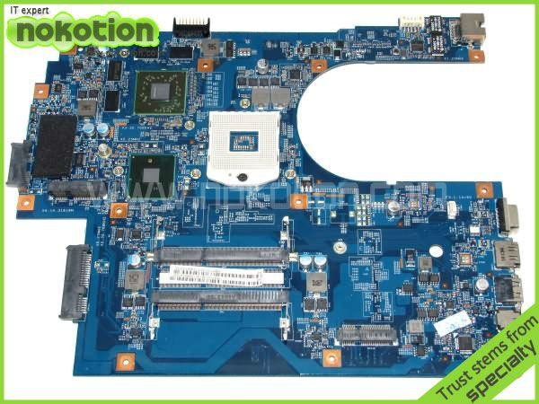 NOKOTION MBPT101001 48.4HN01.01M LAPTOP MOTHERBOARD for acer 7741G series INTEL HM55 graphics card  HD 5650 DDR3 MB.PT101.001 free shipping for acer tmp453m nbv6z11001 ba50 rev2 0 motherboard hm77 tested