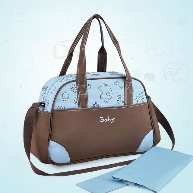 Baby Diaper Bag Multifunctional baby stroller bags Travel Mummy Maternity Messenger Bags  Ladies Handbag Tote infant Nappy Bag