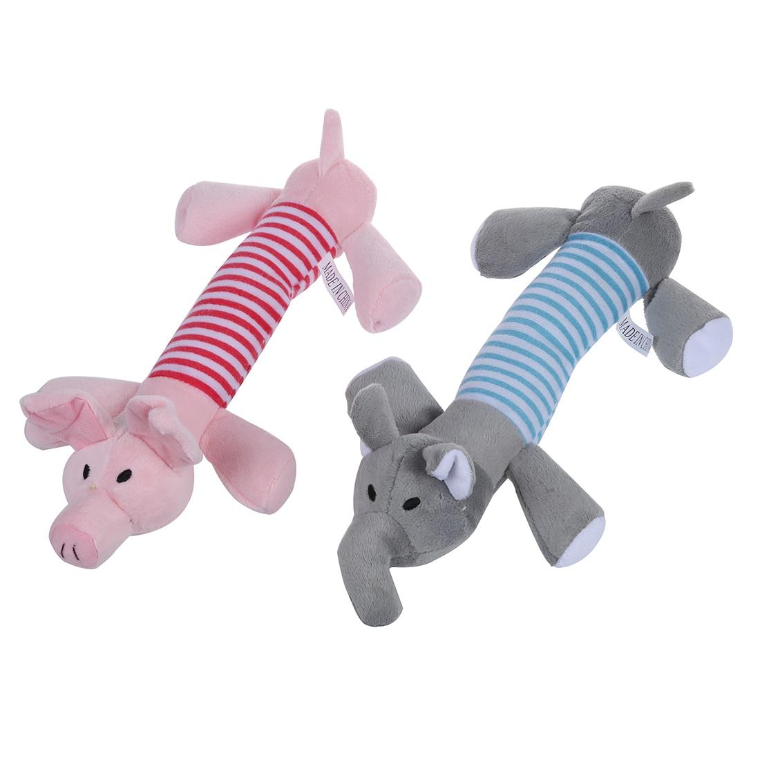 KEOL 2 Собака Щенок, Squeaker скрипучий плюшевые звук свинья игрушки ...
