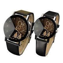 YAZOLE Brand Lovers Watch Women Men Clock Couple Wrist