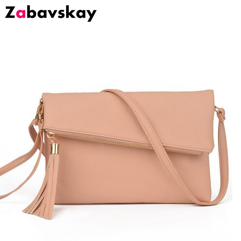 Famous Brand Design Small Fold Over Bag Mini Women Messenger bags Leather Crossbody Sling Shoulder bags Handbags Purses QT26