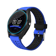 sport Smart Watch V9 with 2G SIM/ TF Card clock Bluetooth Smartwatch women men MP3/MP4 player for Android phone pk M26 KW18 DZ09(China)