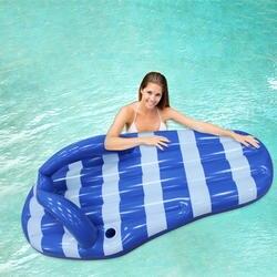 180 см гигантские надувные шлепанцы бассейн поплавки Blue Marine тапочки ездить на воды забавные игрушки для взрослых Детская Вечеринка игрушки