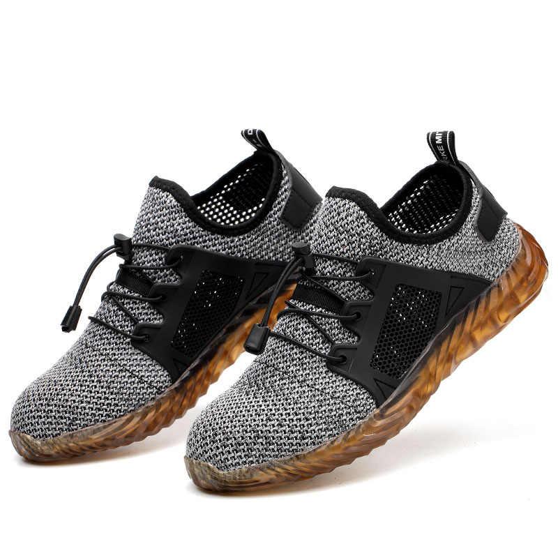 230f78a4d Dropshipping zapatos de Ryder Indestructible de acero para hombre y mujer  botas de seguridad de aire