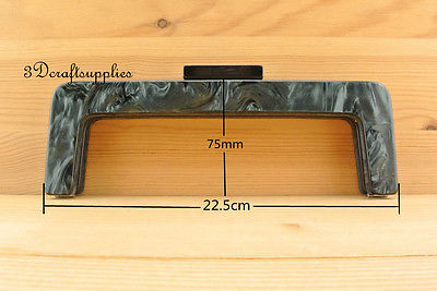 Purse frame 8 1/2 inch x 3 inch ( 22cmx7.5cm ) Acrylic Resin M56F
