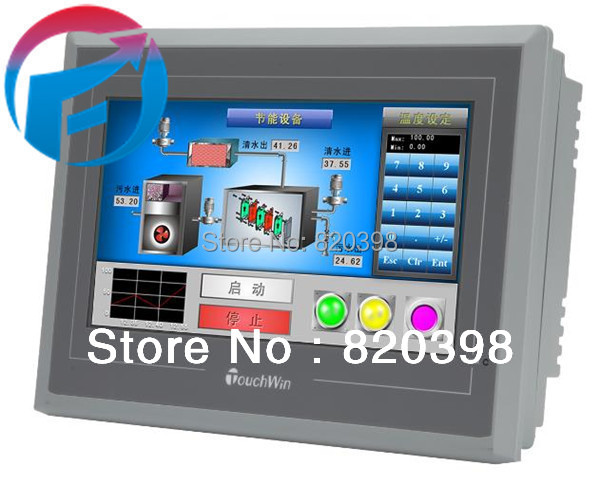 Touch Screen TG765- ET HMI  800x480 7.0 inch Ethernet 1 com New original tp760 765 hz d7 0 1221a