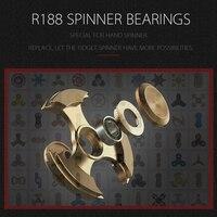 Special R188 Bearings For Metal Fidget Spinner High Speed Stainless SR188 Hand Finger Spinner Bearing