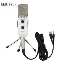 MK F100TL USB Condenser Sound Recording Microphone For Professional Studio Recording Braodcasting Sing Chatting Microfono