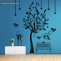 High Quality Brand Art Wall Sticker Tree Home Decor Living Room Vinyl Muurstickers Voor Kinderen Kamers