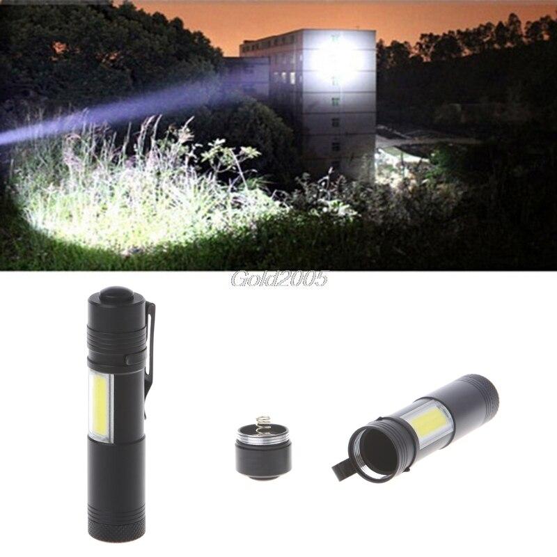 12000 люмен мини фонарик XPE + COB светодиодный фонарик Пальчиковые Лампы AA/14500 4 режима G07 Прямая поставка ...