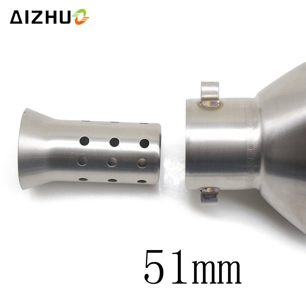 Motorcycle <font><b>Exhaust</b></font> Muffler Db Killer Silencer For <font><b>suzuki</b></font> gsr 600 gsxr <font><b>sv</b></font> <font><b>650</b></font> gsxr 600 gsr 750 gsxr 1000 ktm 1290 super adventure image