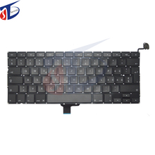 5pcs/lot for macbook pro 13.3inch A1278 swiss keyboard Switzerland clavier without backlight 2009-2012year