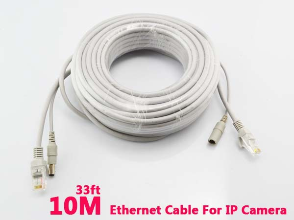 Aliexpress Com Buy Ethernet Cable 10m 33ft Rj45 Dc Power
