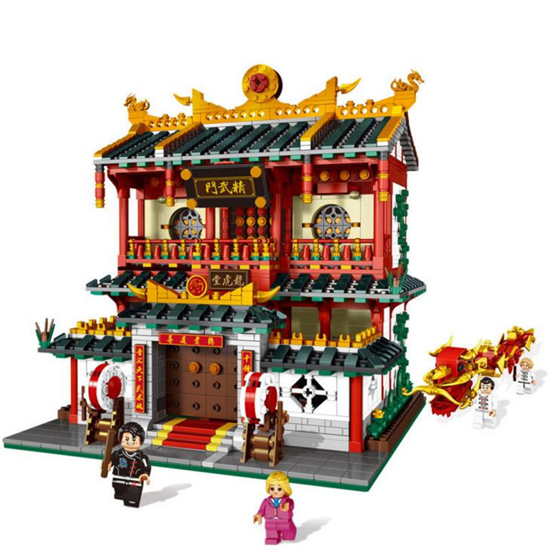 XINGBAO 01004 Creative Building Toys Series The Chinese Martial Arts Set Children Building Blocks Bricks Assembly